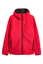 Quilted outdoor jacket - Red - Men | H&M CN 2