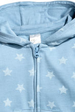 Hooded all-in-one suit - Blue/Star - Kids | H&M 2