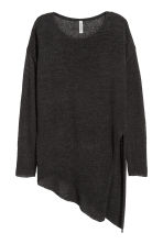 Loose-knit jumper - Black - Ladies | H&M CN 2