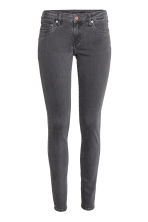 Super Skinny Low Jeans - Dark grey denim - Ladies | H&M 2