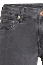 Super Skinny Low Jeans - Dark grey denim - Ladies | H&M 4
