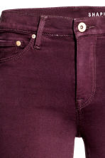 Shaping Skinny Regular Jeans - Plum - Ladies | H&M 4