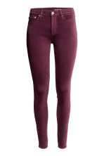 Shaping Skinny Regular Jeans - Plum - Ladies | H&M 2