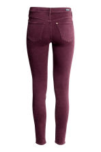 Shaping Skinny Regular Jeans - Plum - Ladies | H&M 3