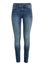 Shaping Skinny Regular Jeans - Dark denim blue/Washed -  | H&M GB 2