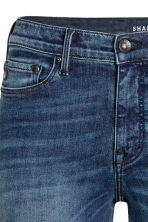 Shaping Skinny Regular Jeans - Dark denim blue/Washed -  | H&M GB 4