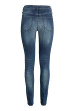 Shaping Skinny Regular Jeans - Dark denim blue/Washed -  | H&M GB 3