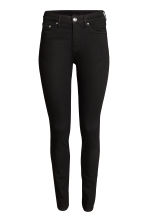 Skinny Regular Jeans - Black denim - Ladies | H&M 2