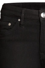 Skinny Regular Jeans - Black denim - Ladies | H&M 5