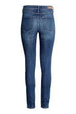 Skinny Regular Jeans - 深牛仔蓝/水洗 - Ladies | H&M CN 3