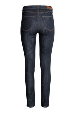 Skinny Regular Jeans - Dark denim blue - Ladies | H&M CN 3
