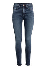 Shaping Skinny High Jeans - Dark denim blue - Ladies | H&M 2