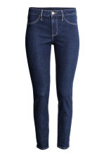 Skinny Regular Ankle Jeans - 深牛仔蓝 - Ladies | H&M CN 3