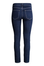 Skinny Regular Ankle Jeans - 深牛仔蓝 - Ladies | H&M CN 4