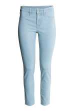 Skinny Regular Ankle Jeans - Light denim blue - Ladies | H&M 5