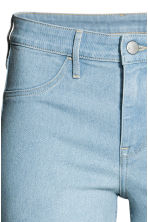 Skinny Regular Ankle Jeans - 浅牛仔蓝 - 女士 | H&M CN 6
