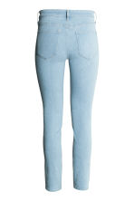 Skinny Regular Ankle Jeans - Light denim blue - Ladies | H&M 2