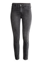 Skinny Regular Ankle Jeans - Dark grey denim - Ladies | H&M 2