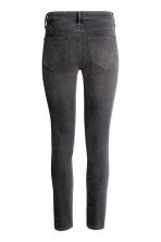 Skinny Regular Ankle Jeans - Dark grey denim - Ladies | H&M 3