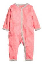 2-pack all-in-one pyjamas - Powder pink/Miffy - Kids | H&M 2