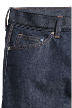Slim Low Jeans - Dark denim blue/Raw - Men | H&M CN 4