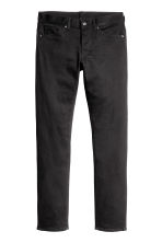 Slim Low Jeans - Black denim -  | H&M 3