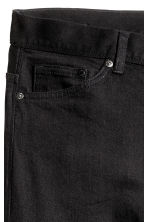 Slim Low Jeans - Black denim -  | H&M 6