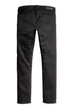 Slim Low Jeans - Black denim -  | H&M GB 3