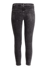 Biker jeans Skinny fit - Negro washed out - MUJER | H&M ES 4