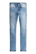 360° Tech Stretch Skinny Jeans - Light denim blue - Men | H&M CA 4