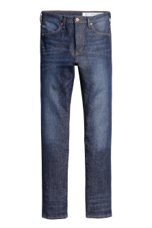 Tech Stretch Skinny Low Jeans