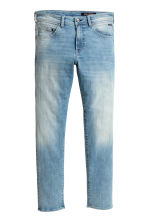 Tech Stretch Slim Low Jeans - Light denim blue - Men | H&M 2