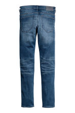 Tech Stretch Slim Low Jeans - Dark denim blue - Men | H&M CA 2