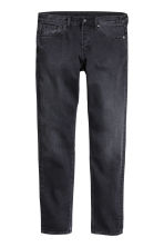 Slim Regular Tapered Jeans - Black washed out - Men | H&M 2
