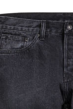 Slim Regular Tapered Jeans - Black washed out - Men | H&M CA 4