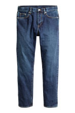 Slim Regular Tapered Jeans - Dark denim blue - Men | H&M 2