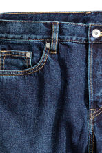 Slim Regular Tapered Jeans - Dark denim blue - Men | H&M 4