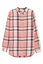 Powder pink/Checked