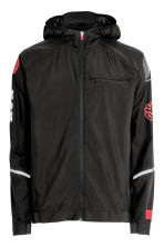 Running jacket - Black/Red - Men | H&M CN 2