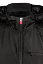 Running jacket - Black/Red - Men | H&M CN 4