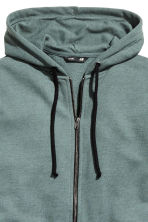 Hooded jacket - Grey green - Men | H&M CN 3