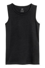 2-pack vest tops - Black - Kids | H&M 3