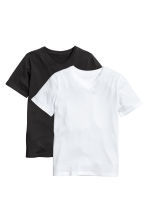 2-pack T-shirts - Black - Kids | H&M 2