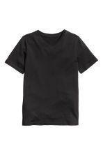 2-pack T-shirts - Black - Kids | H&M CN 3