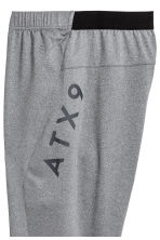 Sports trousers - Grey marl - Men | H&M 3