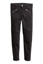 Biker trousers - Black -  | H&M 2