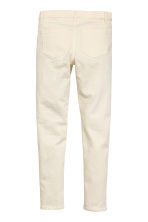 Biker trousers - Natural white -  | H&M 3