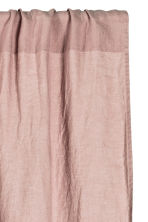 Washed linen curtain length - Dusky pink - Home All | H&M CN 2