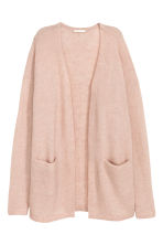 Cardigan in misto mohair - Cipria -  | H&M IT 2