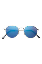 Sunglasses - Silver/Blue - Men | H&M 2